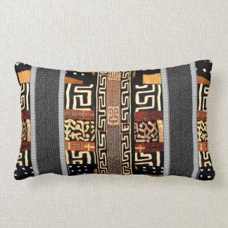 Adorno tribal africano cojín lumbar