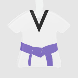 Adorno Uniforme púrpura de la correa de los artes