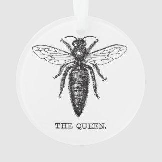 Adorno Vintage del ejemplo de la abeja reina