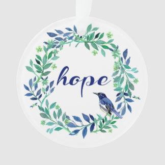 """Adorno Zen, cita inspirada de la """"esperanza"""""""