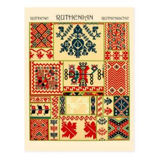Adornos de Ruthenian Postal