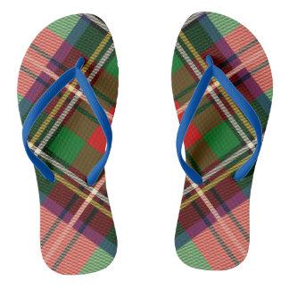 Adulto de encargo escocés, balanceos delgados de chanclas