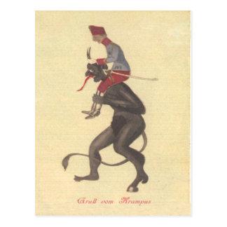 Adulto del secuestro de Krampus Postal