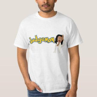 Adulto L de la camiseta de Judgemom