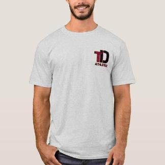 Adulto total de la camiseta del atletismo del