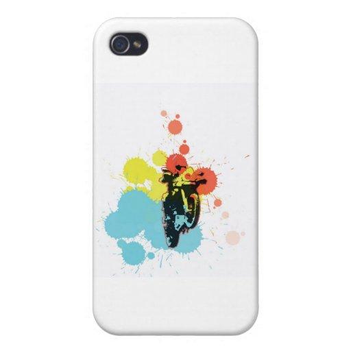 Adv que montan Colorfull iPhone 4 Fundas