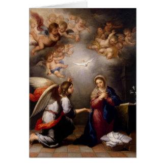 Advenimiento/tarjeta de Navidad Tarjeta De Felicitación