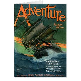 Adventure1911-08 Tarjeta De Felicitación