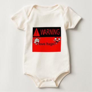 ¡Advertencia! _ Traje De Bebé