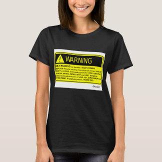 ¡Advertencia de la biblia! Camiseta