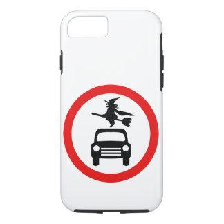 Advertencia de la bruja: Ningunos coches o palos Funda iPhone 7