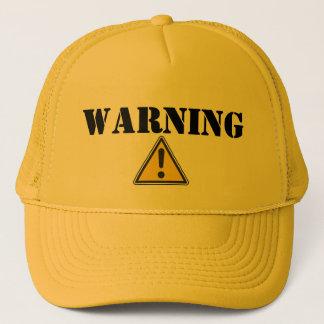 ADVERTENCIA - gorra del camionero