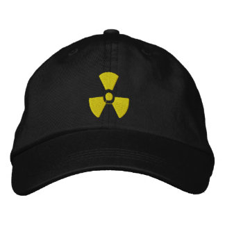 Advertencia tóxica gorra bordada