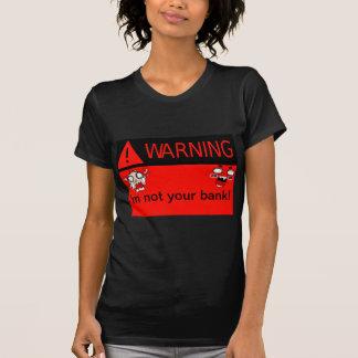 ¡Advertencia _ Camisetas