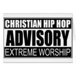 Advisory cristiano de Hip Hop… Felicitación