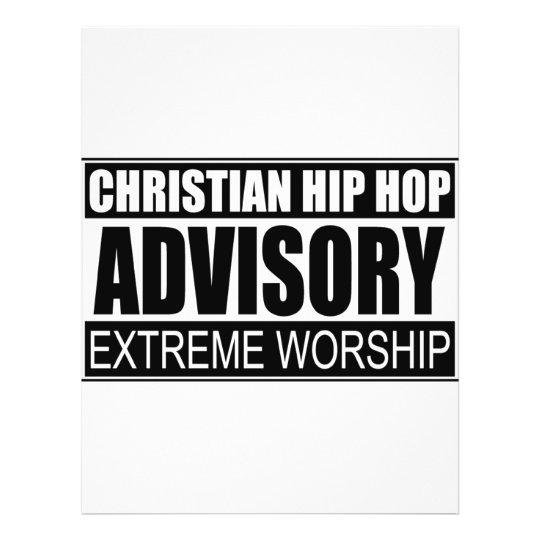 Advisory cristiano de Hip Hop… Folleto 21,6 X 28 Cm