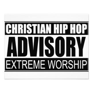 Advisory cristiano de Hip Hop… Invitaciones Personalizada