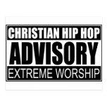 Advisory cristiano de Hip Hop… Postal