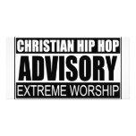 Advisory cristiano de Hip Hop… Tarjetas Con Fotos Personalizadas