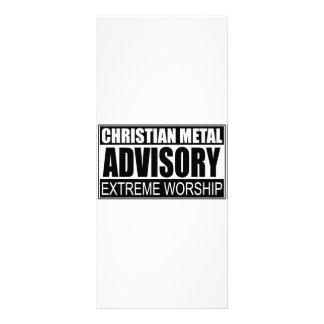 Advisory cristiano del metal… tarjetas publicitarias personalizadas