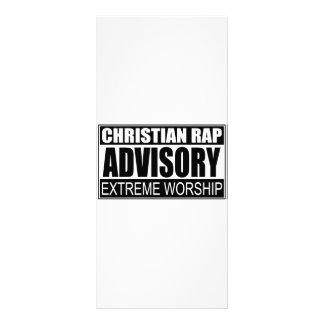 Advisory cristiano del rap… tarjeta publicitaria