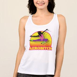 Aerobitch que vuela arriba camiseta de tirantes