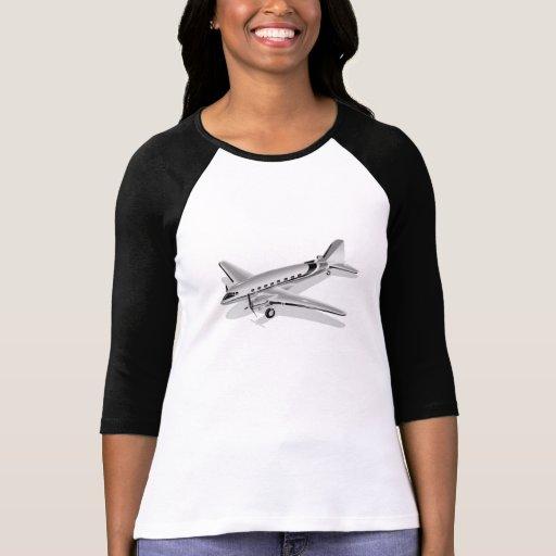 Aeroplano de Douglas DC-3 Camisetas