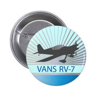Aeroplano de las furgonetas RV-7 Pin