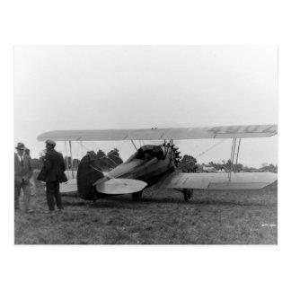 Aeroplano de los años 20 de Cessna del vintage Postal