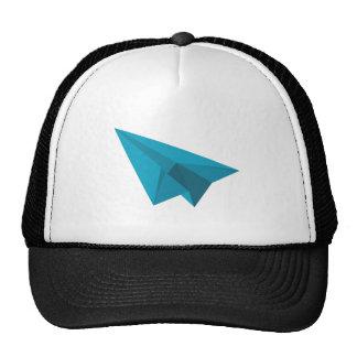 Aeroplano de papel gorra