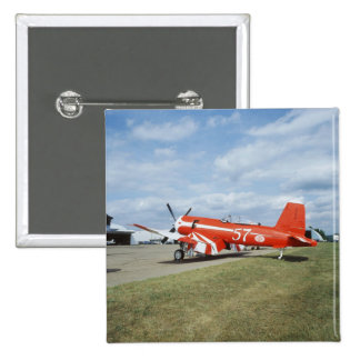 Aeroplano estupendo del corsario de F2G-1D en el s Pin