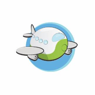Aeroplanos del juguete chapa fotoescultura