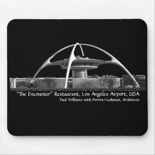 "Aeropuerto Mousepad del LA del restaurante ""del en Tapete De Raton"