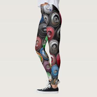 Aerosol del color leggings