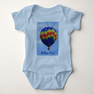 Aerostación del aire caliente del arco iris body para bebé