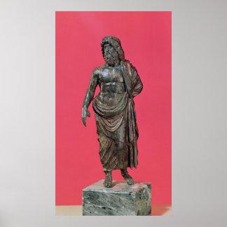 Aesculapius, del Neuvy-en-Sullias Póster