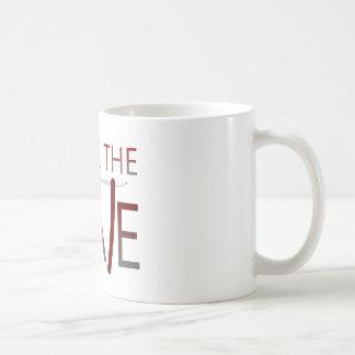 Afeite al compañero taza de café