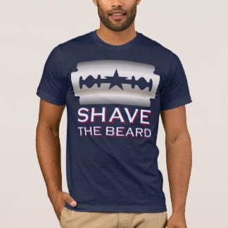 Afeite la barba - Texas Rangers Camiseta