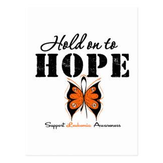 Aferrar de la leucemia a la esperanza postal