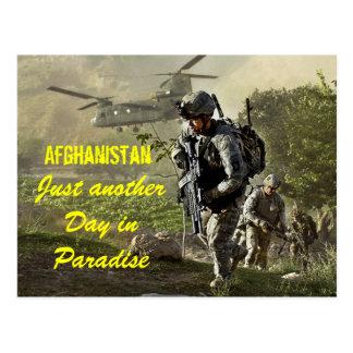 Afganistán apenas otro día en postal del paraíso