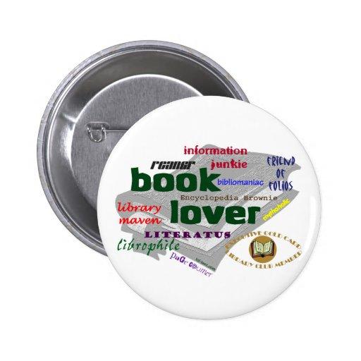 Aficionado a los libros pins