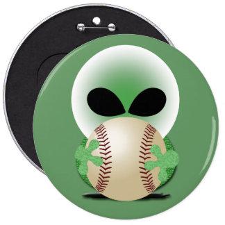 Aficionado al béisbol pins