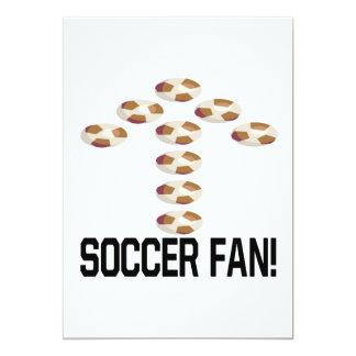 Aficionado al fútbol comunicado personal