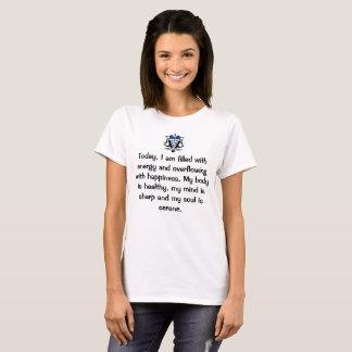 Afirmación positiva camiseta