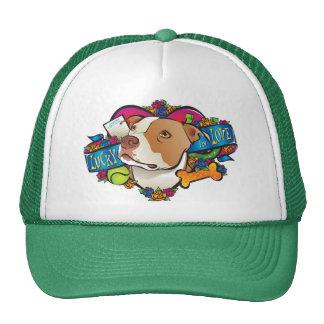 Afortunado en amor gorras