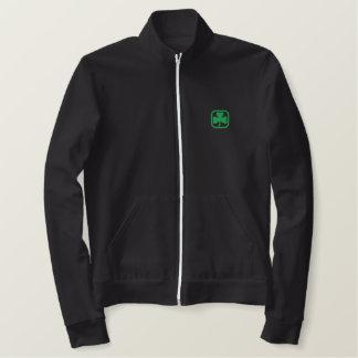 Afortunado para ser irlandés chaqueta bordada
