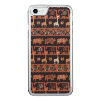 África Funda Para iPhone 8/7 De Carved