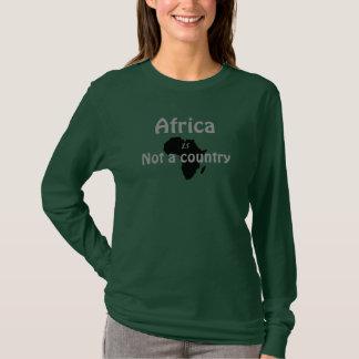 África, no un país camiseta