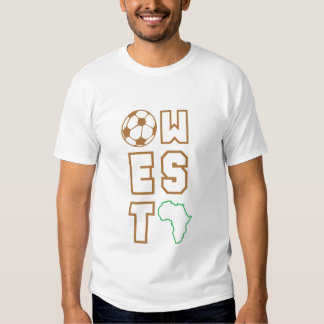 África para África por Jamhuri - del oeste Camiseta