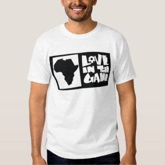 África para África por Kihiko - amor en el juego Camisetas
